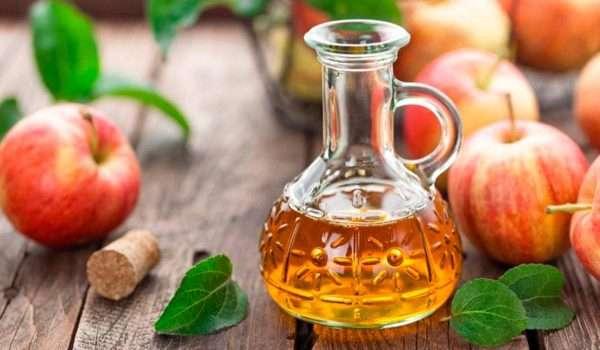 علاج دوالي الساقين بخل التفاح