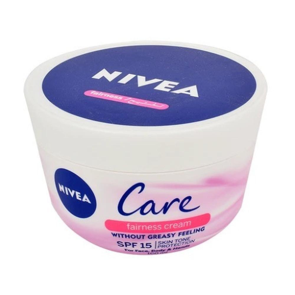 كريم نيفيا Nivea Cream كريم تفتيح البشرة الشهير