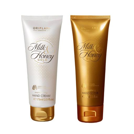كريم أوريفليم بالعسل والذهب Oriflame Hand & Body Cream المغذي لليدين والجسم