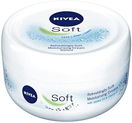 Nivea Soft Moisturising Cream in Jar.. كريم مرطب للبشرة الدهنية من نيفيا