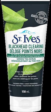 ST.IVES Blackhead Clearing Green Tea Scrub